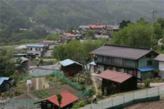 六合村赤岩地区