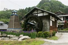 赤岩水車小屋