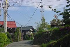赤岩神社参道